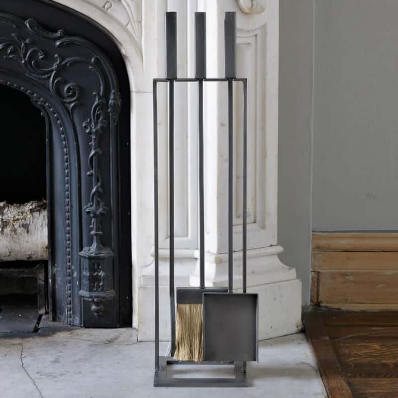 Light Up Your Fire With These Modern Fireplace Tools