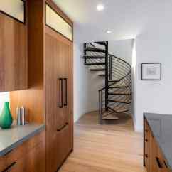 Modern Kitchen Lights Lowes Undermount Sink San Francisco Apartment Building Becomes Linden Street Jewel