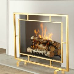 Decorate Living Room With No Fireplace Color Ideas Brown Leather Furniture Light Up Your Fire These Modern Tools