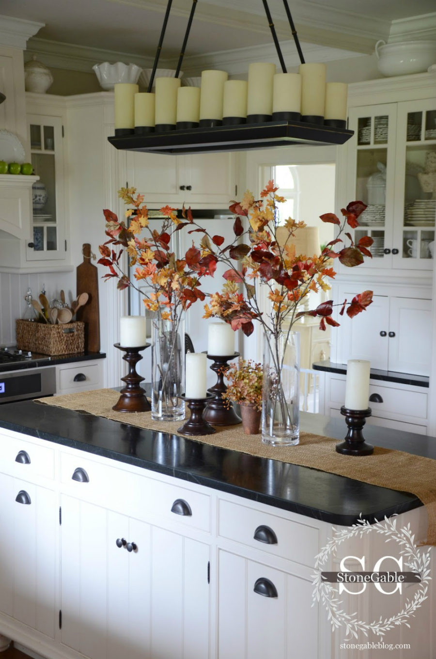 fall kitchen decor outdoor ideas that are simply beautiful view in gallery stone gable blog