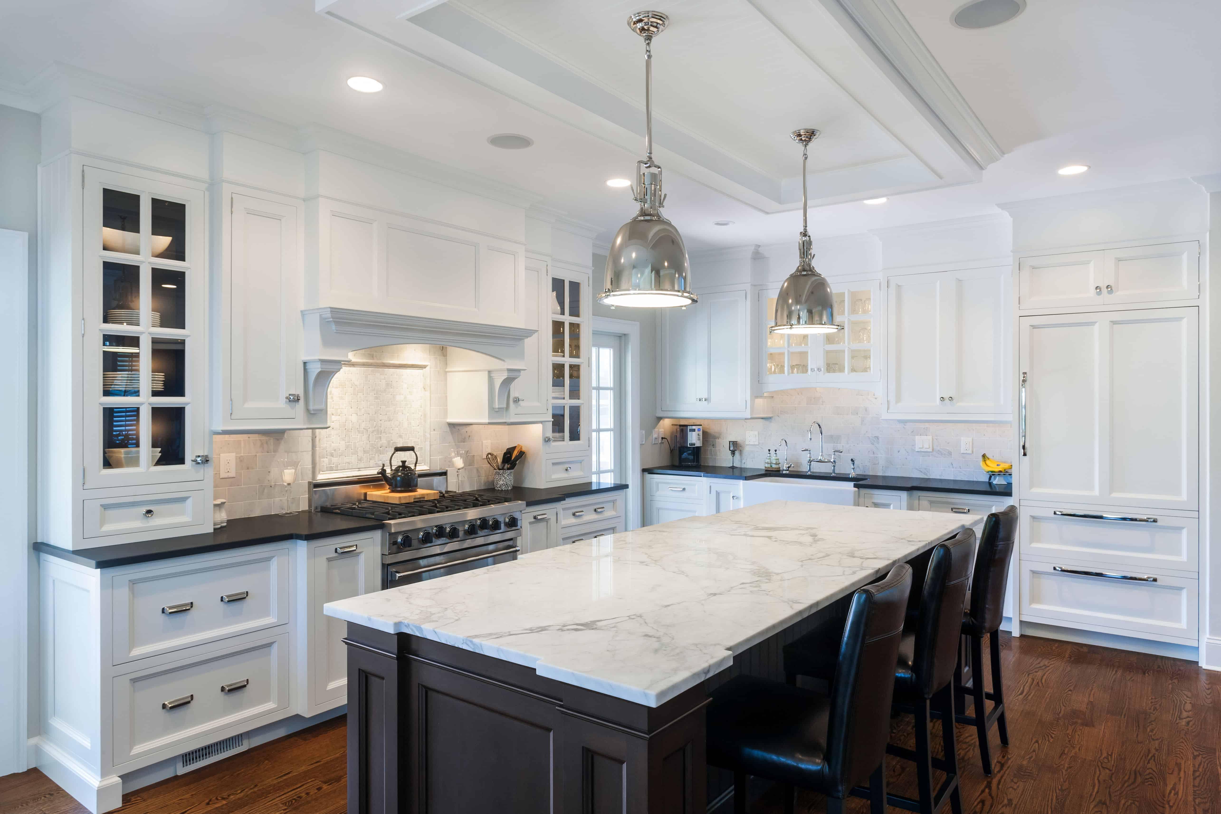 white kitchen islands tablecloths exquisite design countertop ideas black
