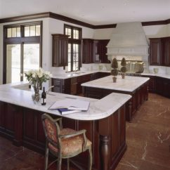 Wood Kitchen Counters Counter Stools With Backs 36 Marbled Countertops To Ignite Your Revamp View In Gallery Splendid Design Countertop Ideas White Marble