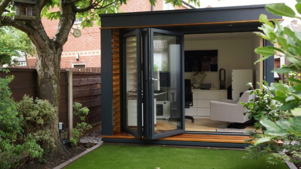 modern outdoor home office sheds