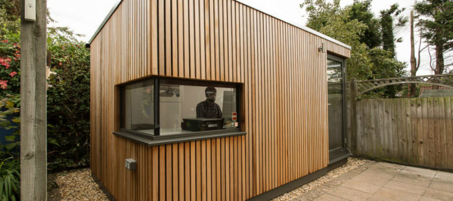 How Build Garden Office Shed