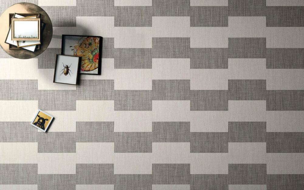 Textile Look Porcelain Tiles From Ceramica SantAgostino