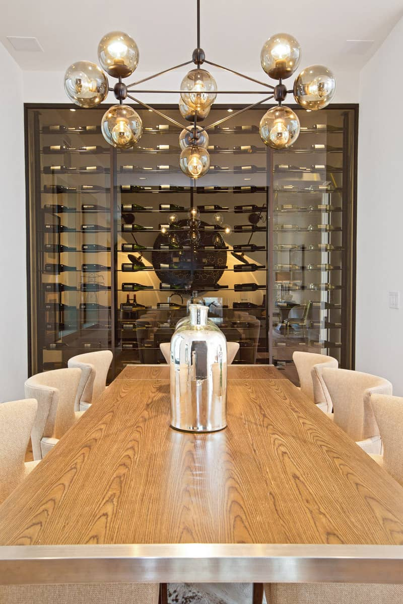 glass kitchen cabinet doors standing cabinets for any connoisseur's dream: modern wine cellar designs