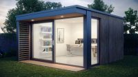 21 Modern Outdoor Home Office Sheds You Wouldn't Want to Leave