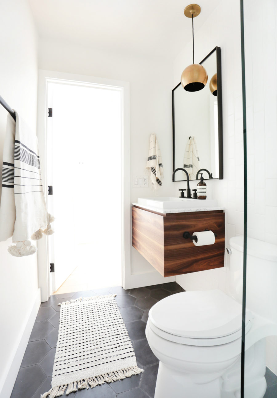 Modern Small Bathroom These Small Bathrooms Will Give You Remodeling Ideas