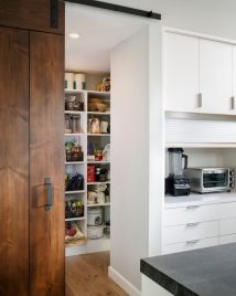 Barn Door Kitchen Pantry Designs
