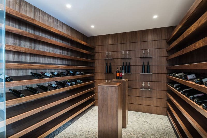 types of kitchen cabinets where to buy appliances any connoisseur's dream: modern wine cellar designs