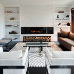 Living Room Design Ideas Tv Over Fireplace Y Sus Partes Modern Built-ins For Every And Purpose