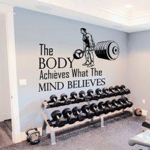Gym Motivational Wall Decals