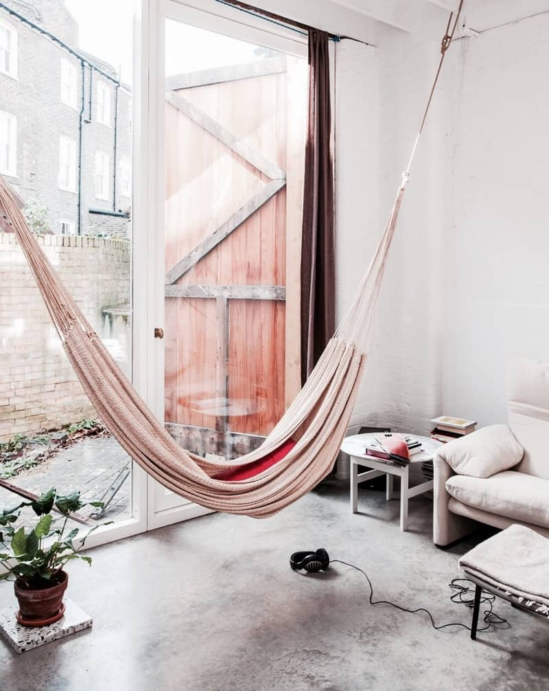 Indoor Hammock Ideas for YearRound Summer Atmosphere