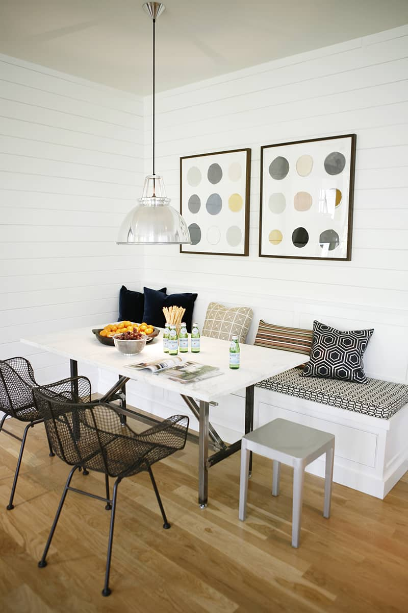 used kitchen chairs pallet adirondack chair modern breakfast nook ideas that will make you want to become a morning person