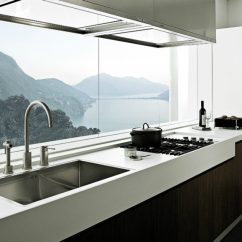 Kitchen Window Ideas Bargain Outlet Cabinets Cooking With Pleasure Modern Alea By Poliform