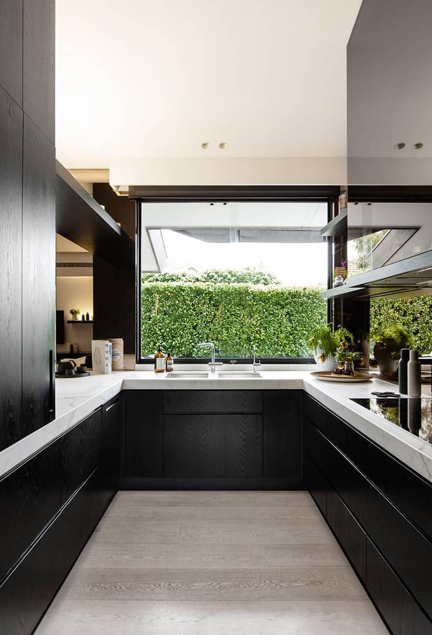 modern kitchen window ideas