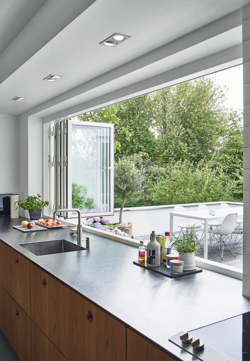 kitchen window ideas banquettes cooking with pleasure modern at 4249 house by dgbk view in gallery folding