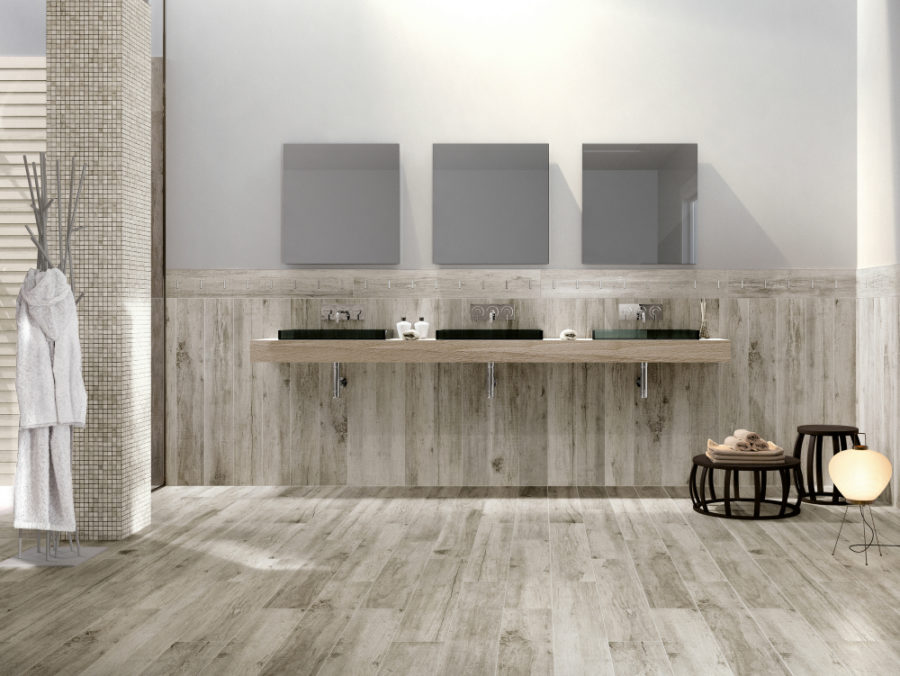 these modern bathroom tile designs will