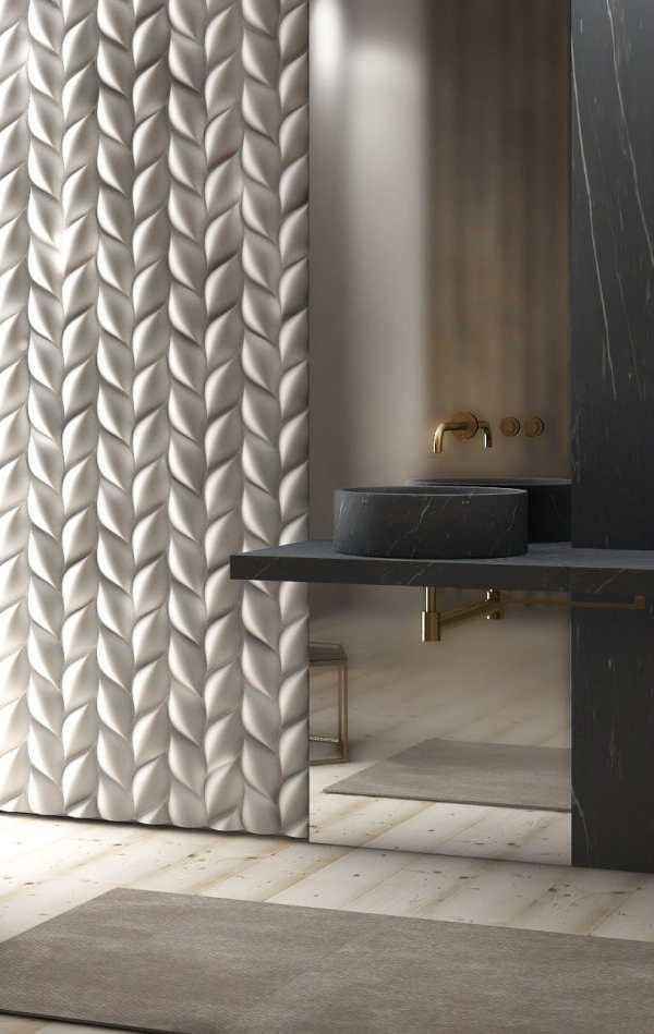 3D Wall Panels Bathroom
