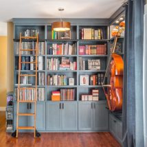 Modern Home Library Ideas Bookworms And Butterflies