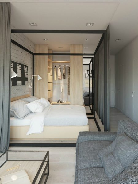 small apartment bedroom idea Creative Sleeping Areas for Open Plan Homes