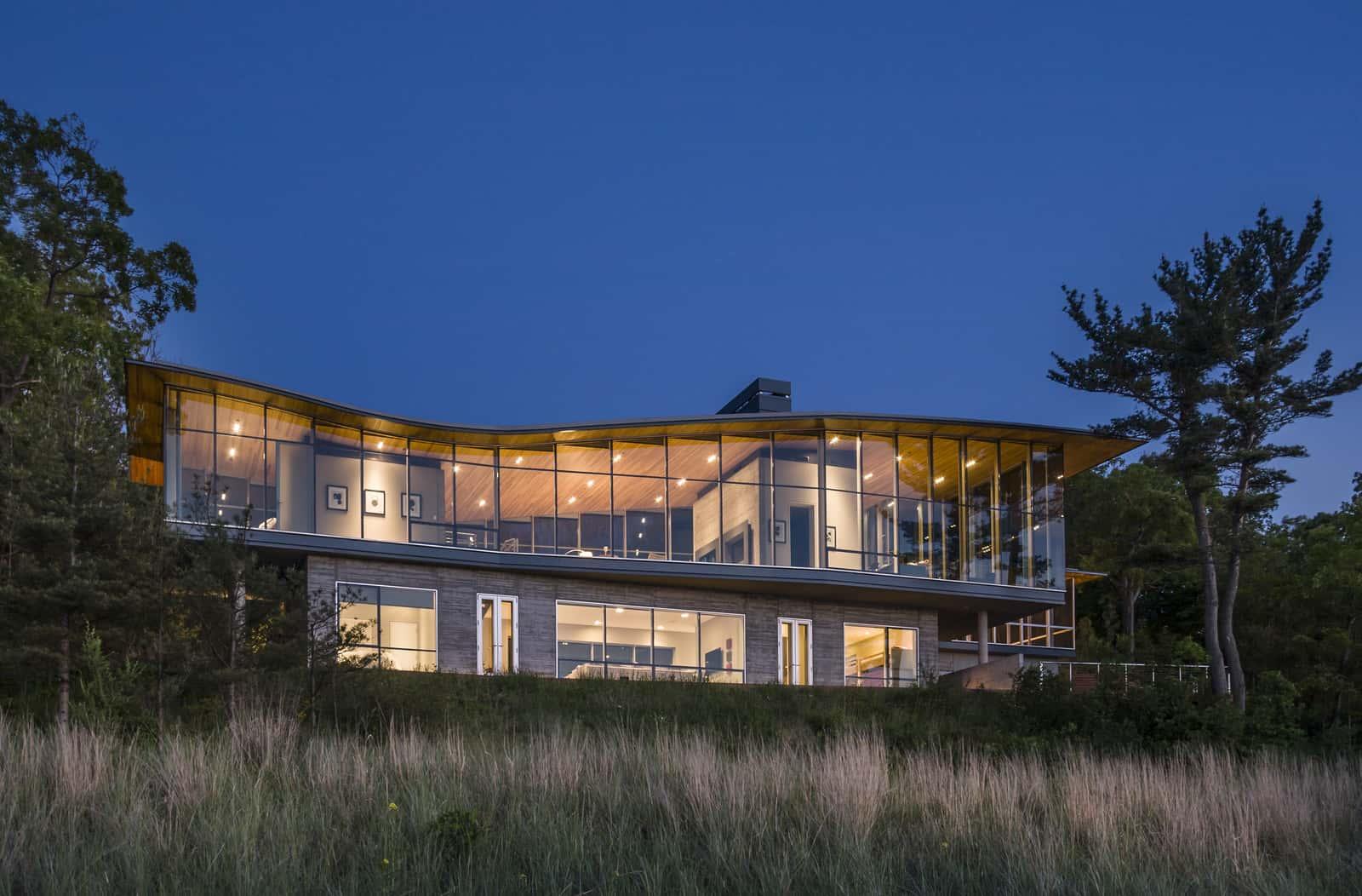 outside kitchen designs small islands modern beach homes | exterior design