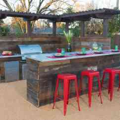 Rustic Outdoor Kitchen Padded Mats 20 Modern Bar Ideas To Entertain With