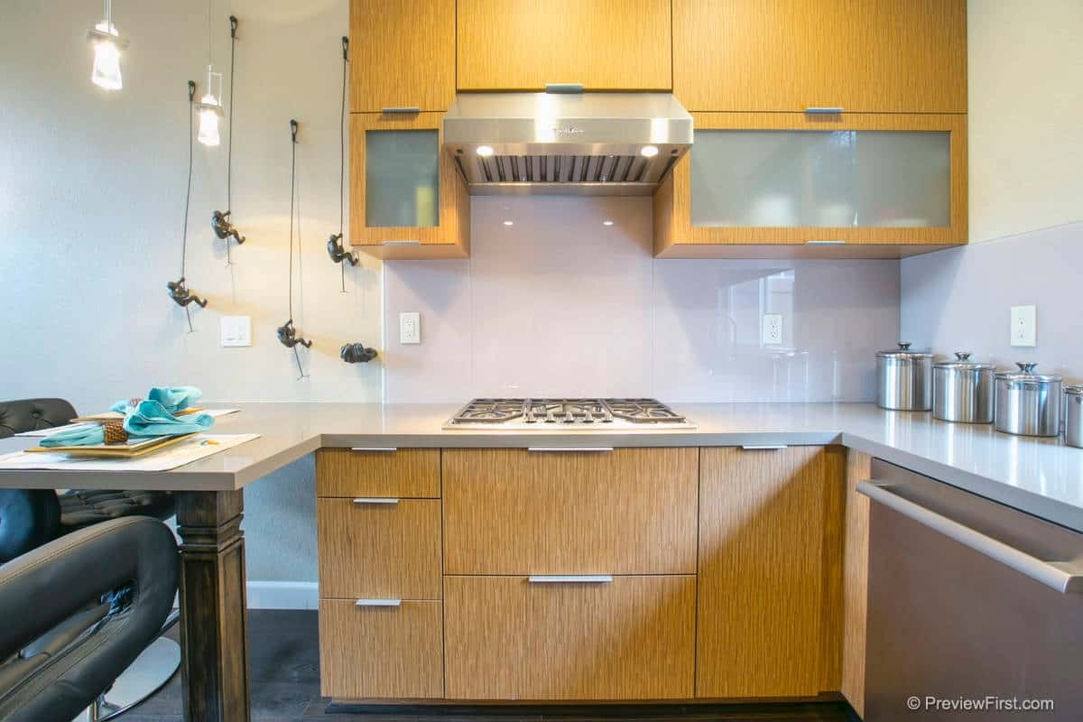 glass kitchen backsplash chandalier 15 ideas to spark your renovation