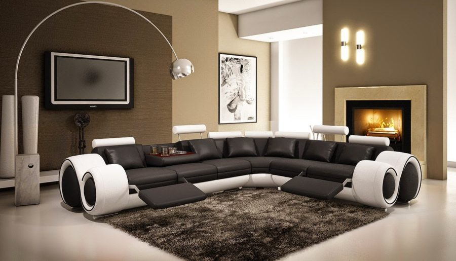 These 20 Curved Sectional Couches Are Perfect For Big Families : modern curved sectional sofa - Sectionals, Sofas & Couches