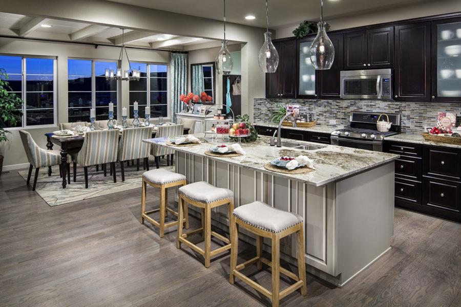 Open Kitchen Floor Plans Islands