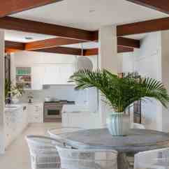 Beach Style Kitchen Table And Chairs Pressed Back Oak Chic Ideas To Try At Home Dining