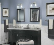 modern bathroom paint