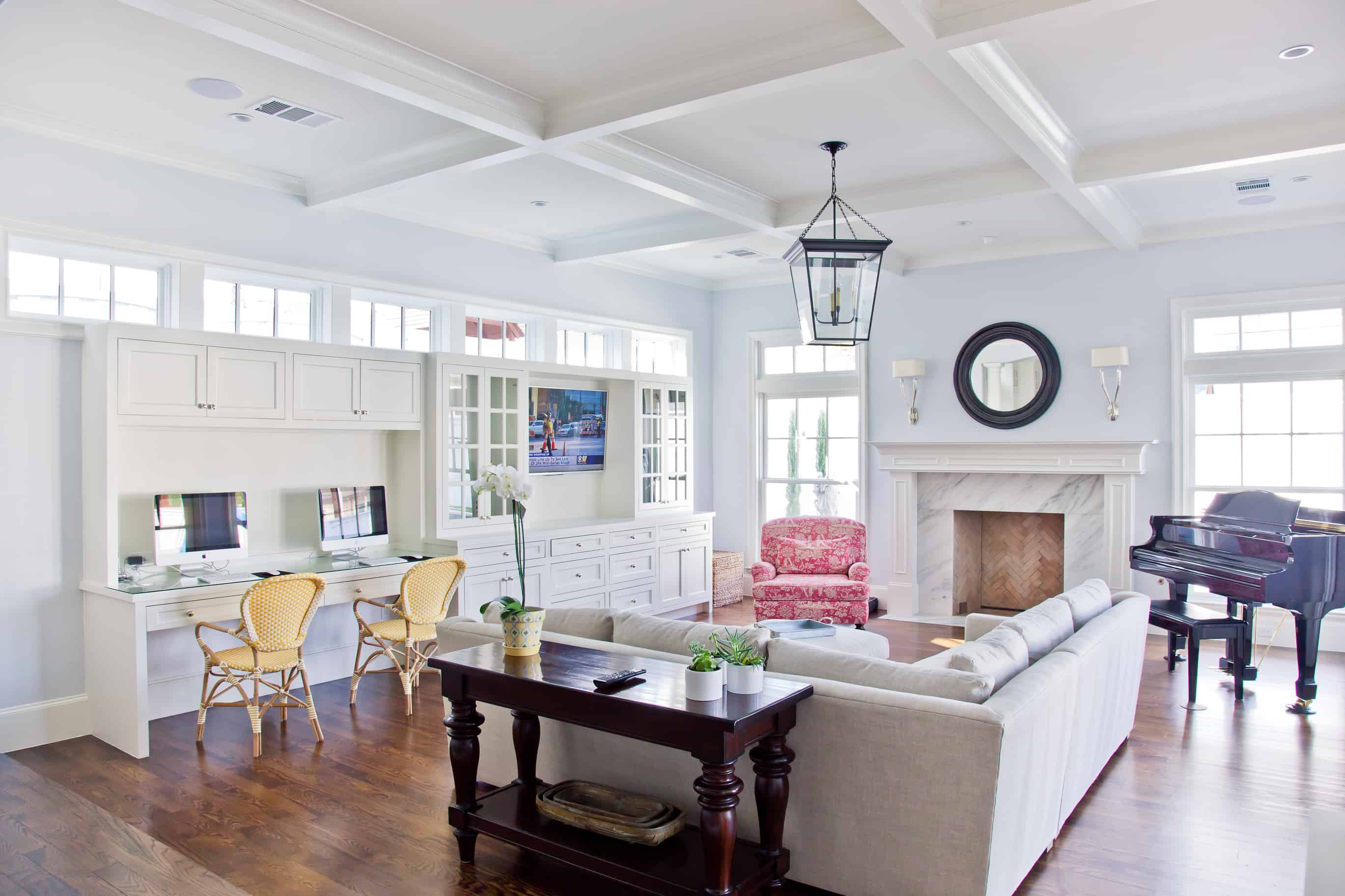 cape cod style living room design pop ceiling back to school homework and study space ideas you will love