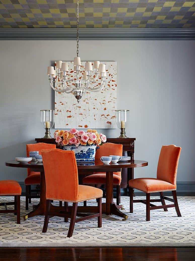 Wallpaper Fall Farmhouse Modern Dining Room Tables That Are On Trend