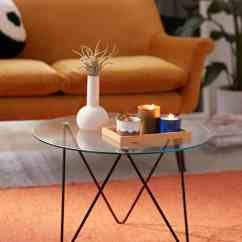 Formal Living Room End Tables Round Chairs 15 Glass Coffee To Display In Your View Gallery Anderson Table
