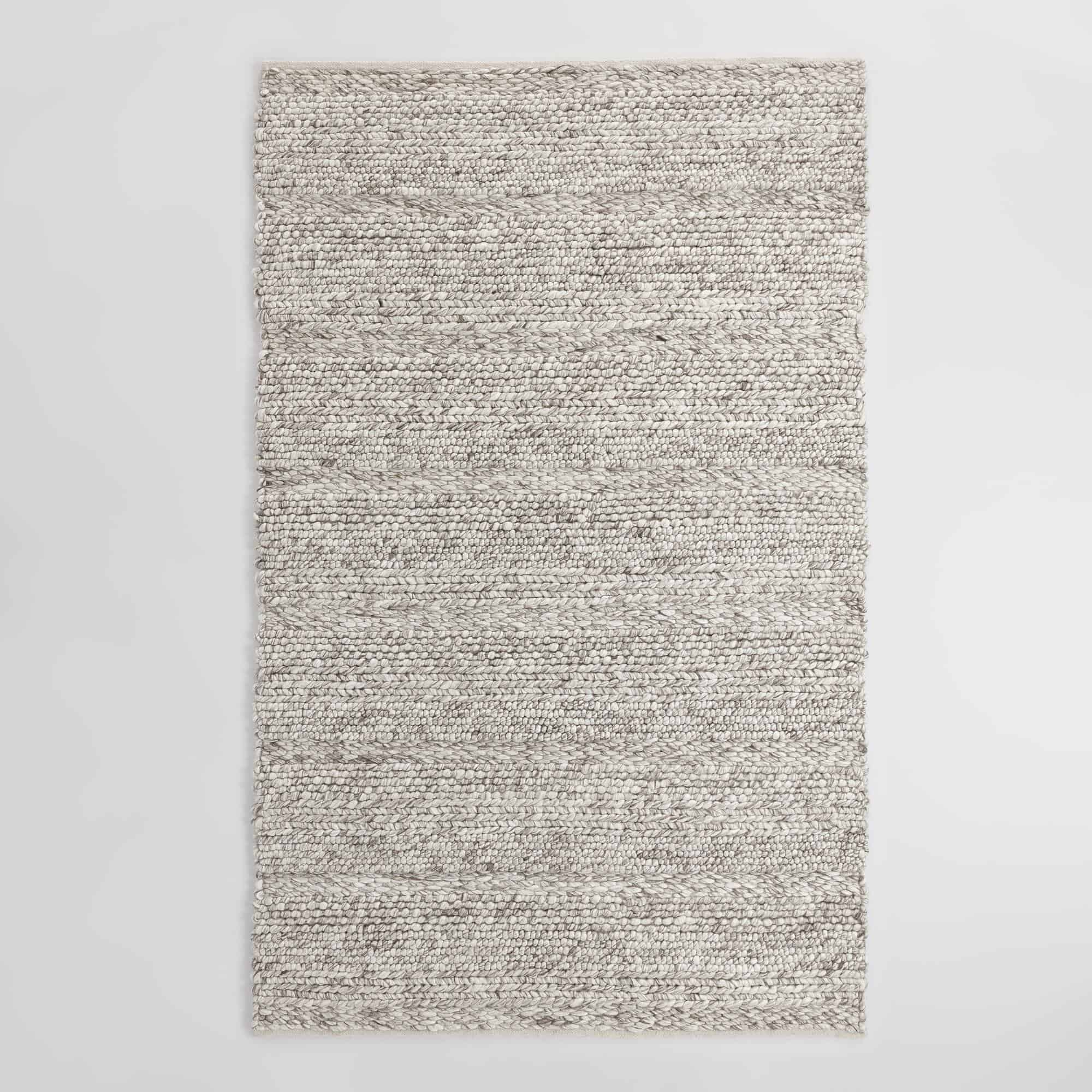 gray kitchen mat large table statement rugs that add texture