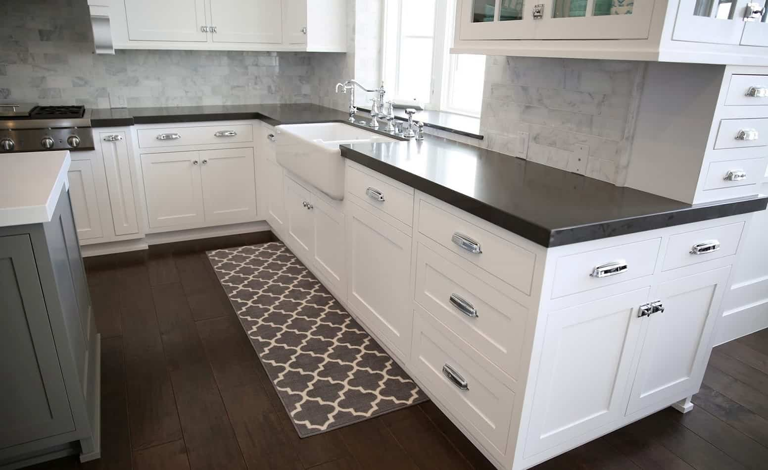 rugs for kitchen blanco faucet statement that add texture view in gallery with rug