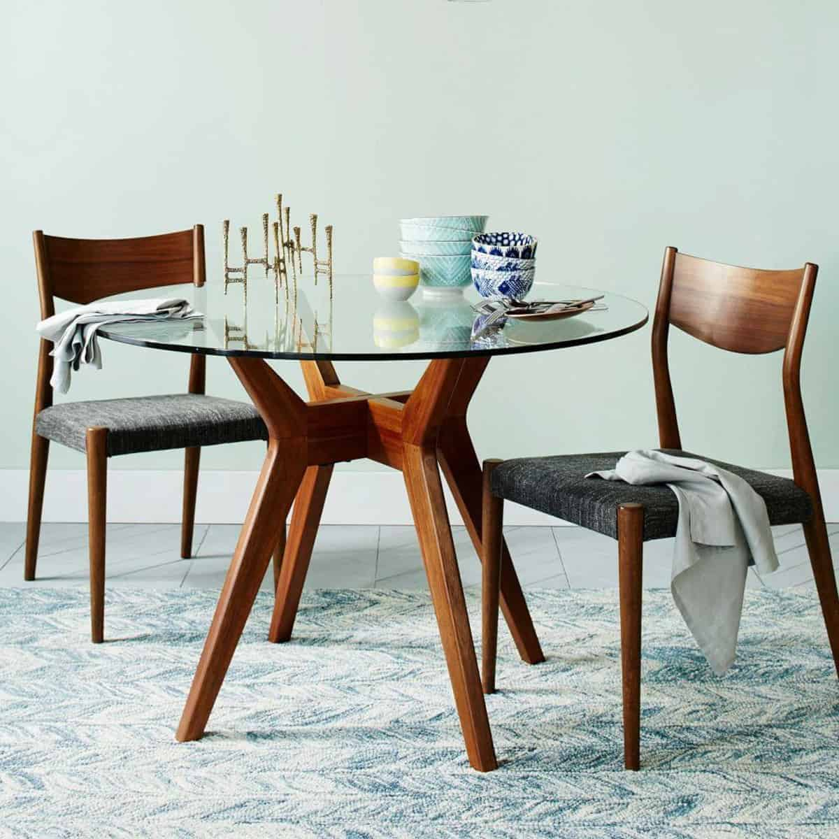 15 Round Glass Dining Room Tables That Add Sophistication