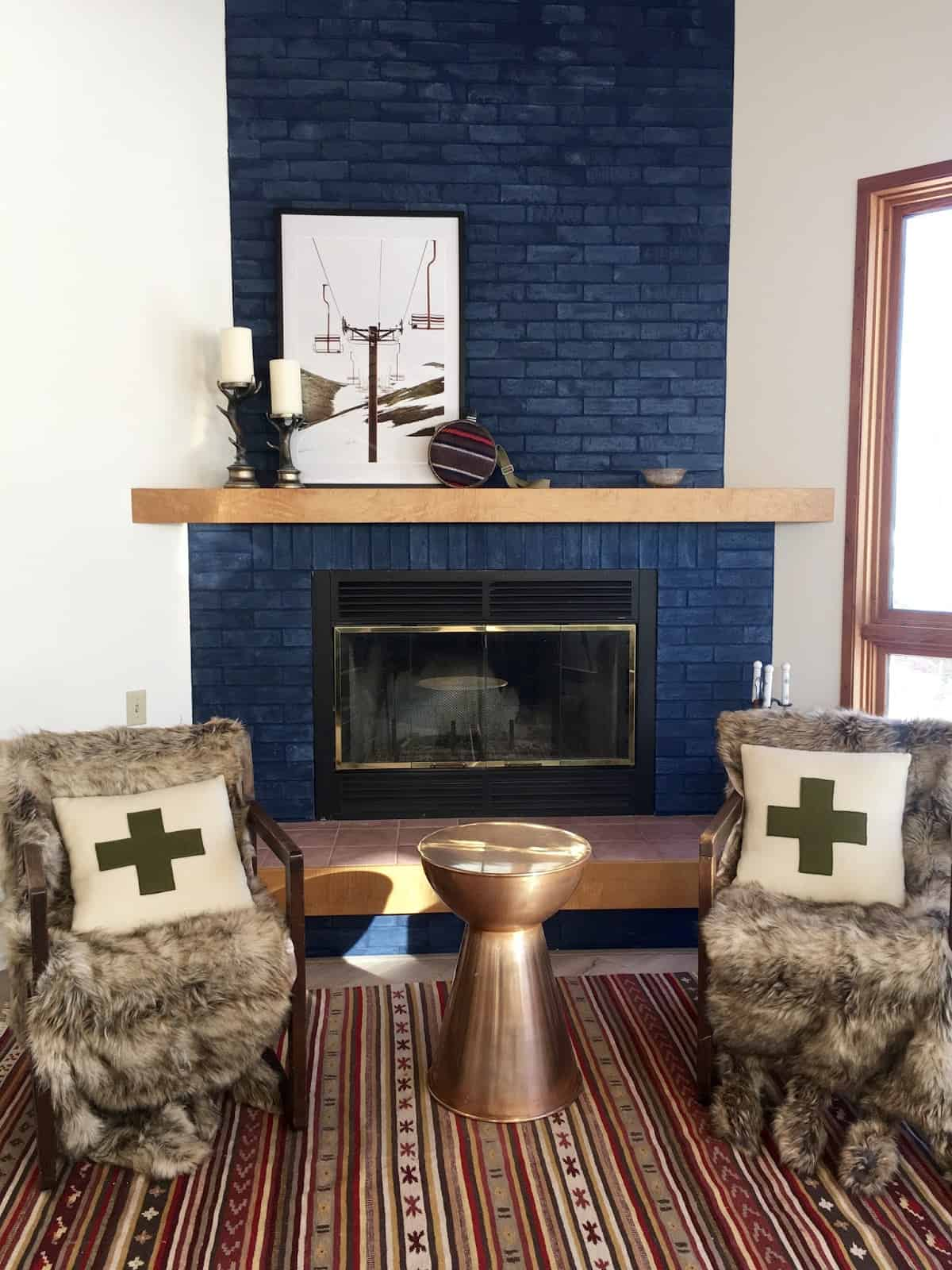 small living room fireplace decorating ideas white sideboards for 10 ways to refresh your brick