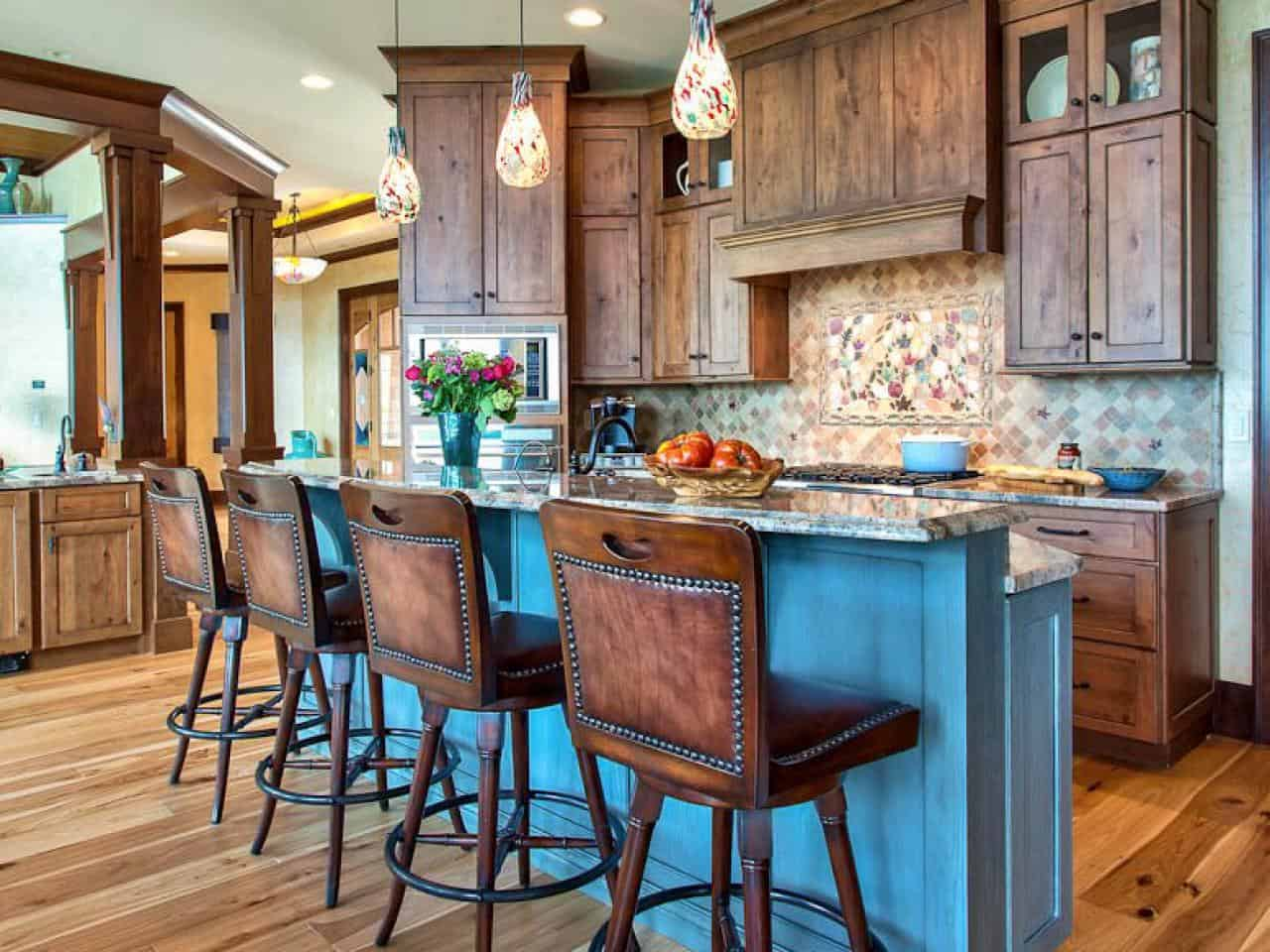 colored kitchen islands backsplashes 10 rustic island ideas to consider add color