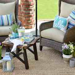 Comfy Outdoor Chair Portable Salon How To Make The Most Out Of A Small Patio Space  Obsigen