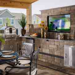 Rustic Outdoor Kitchen Sink Pendant Light Ideas That Will Make You Drool