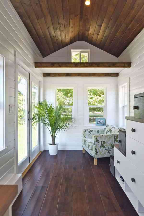 House with Wood Floors and Ceilings