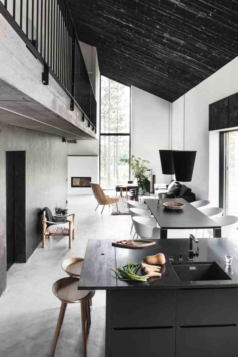 Black And White Rooms That Feel Almost Too Good To Be True