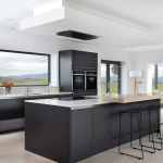 How To Decorate With Stylish Black Kitchen Cabinets