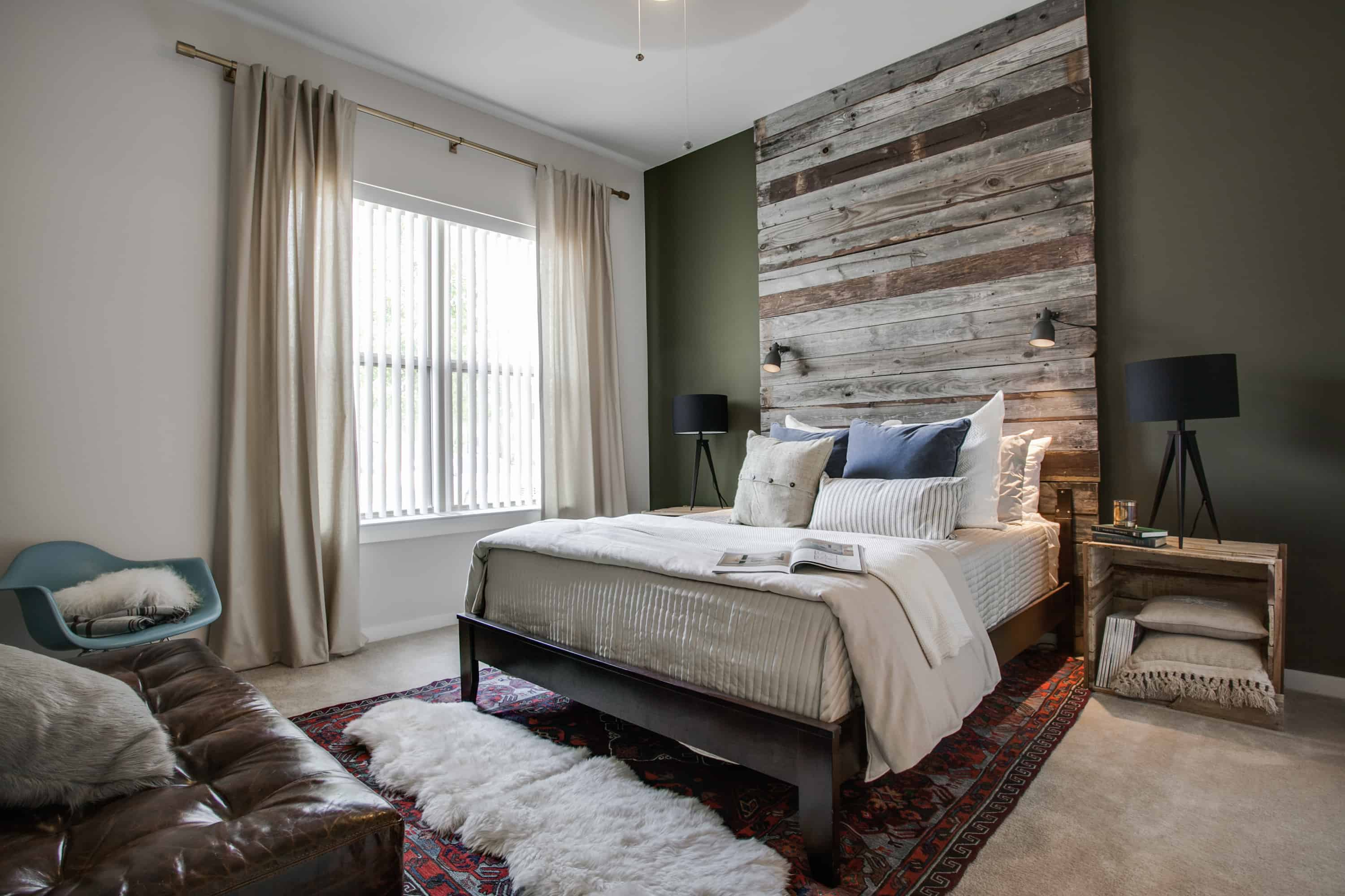 29 masterful bedroom design ideas for guys · #1. The Beauty Of A Masculine Bedroom Decor