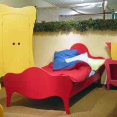 Alice In Wonderland Chair Wheel Van Kids Fantasy Bedroom Furniture From Mathy By Bols