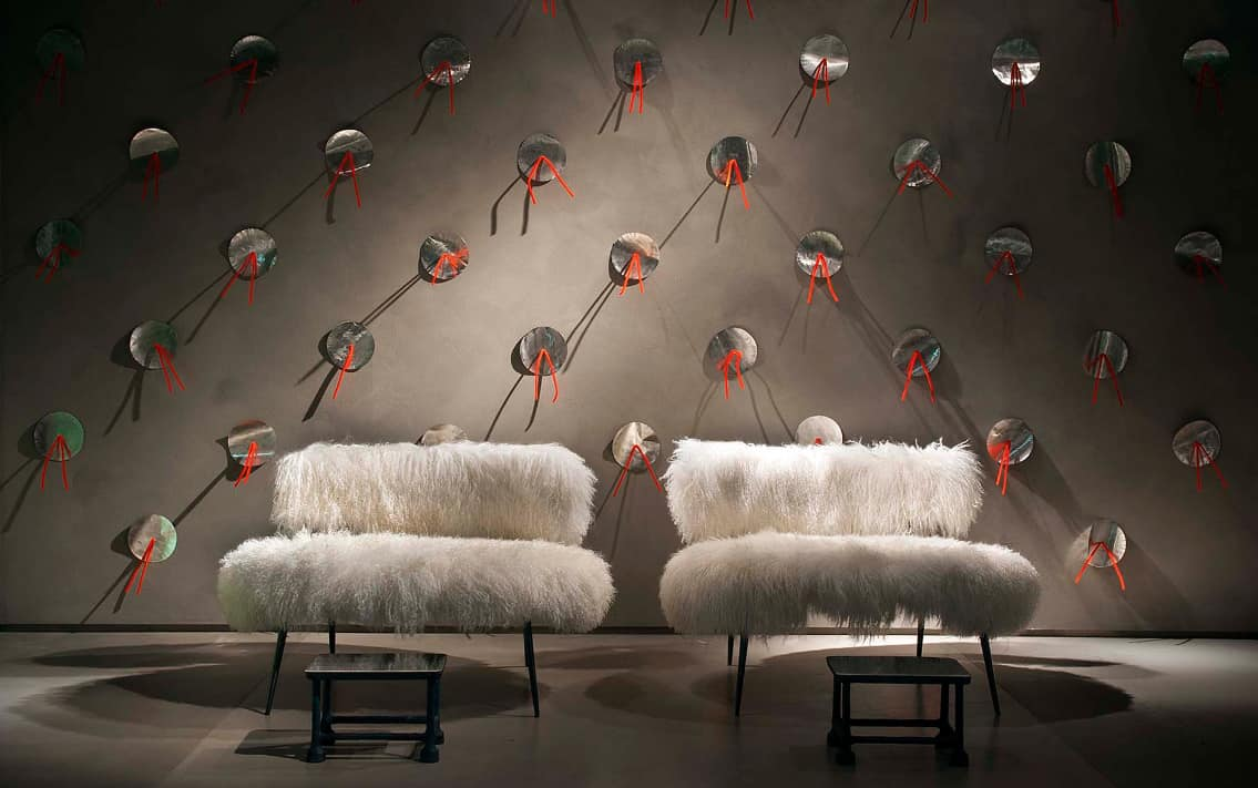 removable cover sofa virginia made faux fur furniture from baxter by paola navone: nepal