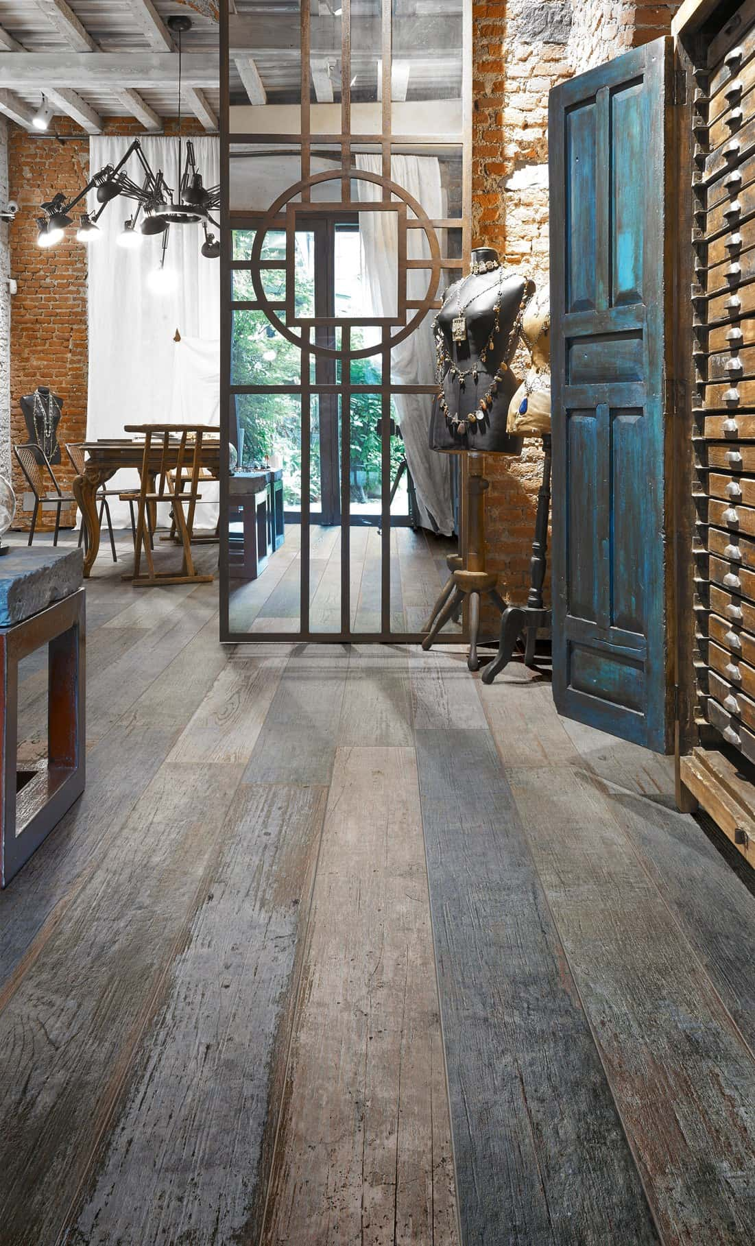 Porcelain Wood Flooring