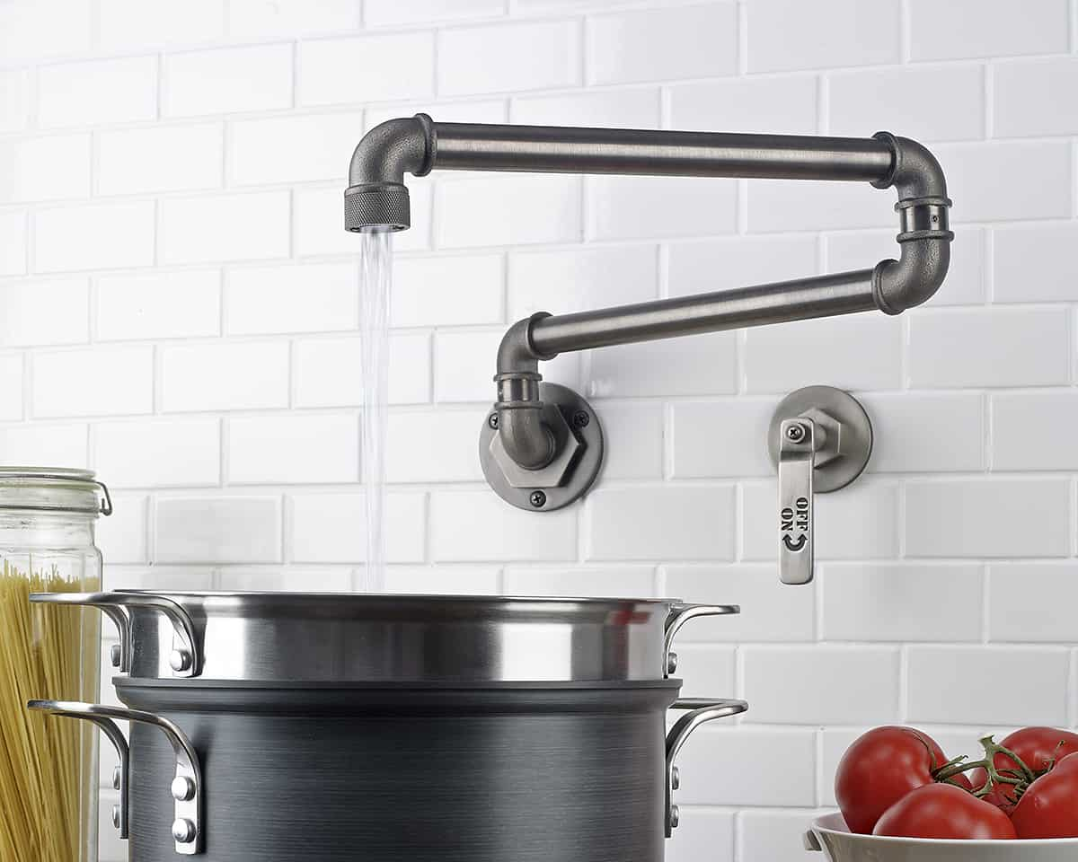 industrial faucet kitchen vent hood style faucets by watermark to give your
